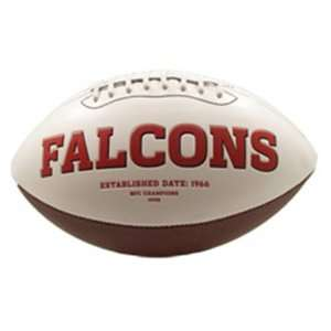 Series Team Full Size Footballs   Atlanta Falcons