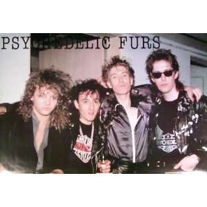 Psychedelic Furs   Group   Original 1986 24x35 Poster