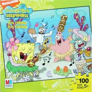 Nickelodeon Spongebob Squarepants 100 Piece Jigsaw Puzzle