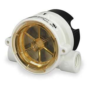 GEMS SENSORS RFO, 1/4 NPT Poly Flow Rate Monitor,Rotor,5