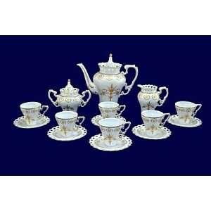 Royal Gold Porcelain Tea / Coffee Set