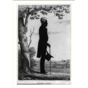 Historic Print (M) Andrew Jackson / from life by Wm. H. Brown ; lith