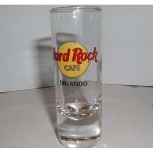 HARD ROCK CAFE ORLANDO FLORIDA TALL SHOT GLASS  Kitchen