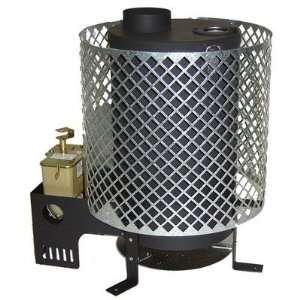 Trekker Portable Space Heater, Diesel, 4,000   12,000 BTU/h, 64   440