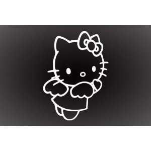 HELLO KITTY ANGEL DECAL STICKER 6X5