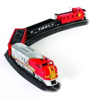 Like Trains HO Scale Rail Master Electric Train Set Toys & Games