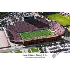 University of Iowa (Hawkeyes), Stadium Lithograph Only