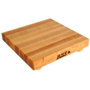 John Boos B12S 3 1 1/2 Thick Maple Cutting Board Kitchen