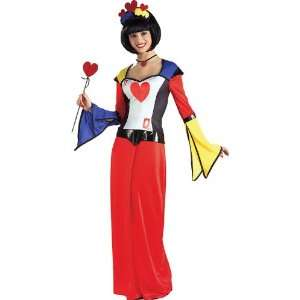 Queen of Hearts Dress Adult Costume (Standard) Rubies