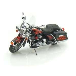 2009 Harley Davidson FLHR Road King 1/12 Black with Edge