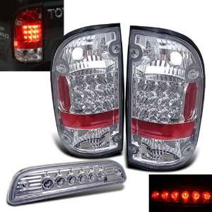 Pickup LED Tail Lights+led 3rd Brake Lamp Brand New Left+right Set