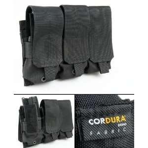 Pantac MOLLE M16 Tripple Magazine Pouch (Black / Cordura