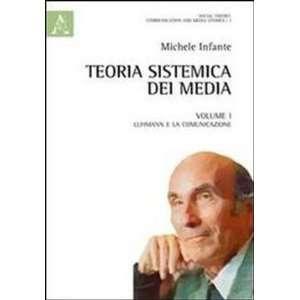 : Teoria sistemica dei media (9788854847231): Michele Infante: Books
