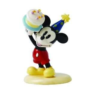 Disney Showcase by Royal Doulton Mickey Mouse Happy Birthday Figurine