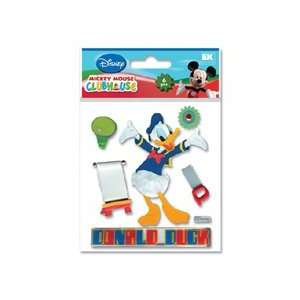 Mickey Mouse Clubhouse 3D Stickers Donald Duck Arts