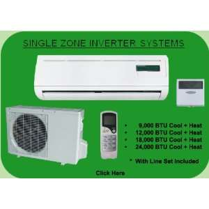 18,000 BTU Single Zone Inverter Mini Split AMS181HX