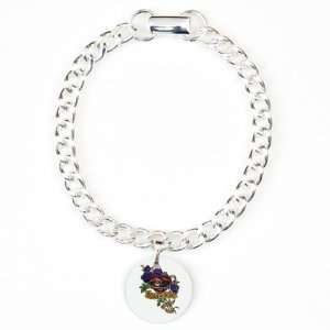 Charm Bracelet Heart and Soul Roses and Motorcycle Engine