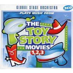 Plays Music from the Toy Story Movies 1 2 3 Global Stage