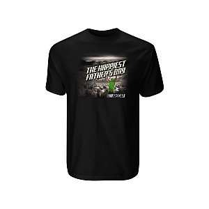 NASCAR The Happiest Fathers Day T Shirt   Nascar Large Sports