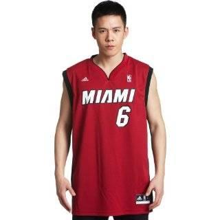 NBA Miami Heat Adidas Snapback Hat (Red/Black)  Sports
