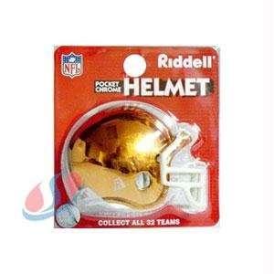 Cleveland Browns Chrome Pocket Pro NFL Helmet  Sports