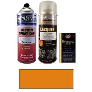 12.5 Oz. Valencia Orange Metallic Spray Can Paint Kit for
