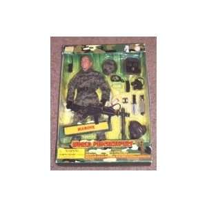 World Peacekeepers Marine 12 Figure : Toys & Games :