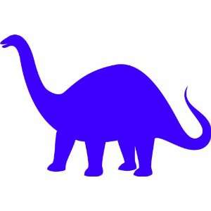 Vinyl Wall Art Decal Custom Stickers   The Stone Age   Brontosaurus