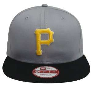 Pittsburgh Pirates New Era Retro Snapback Cap Hat Grey