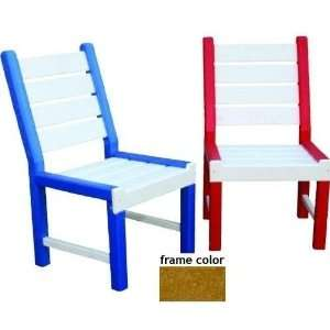 Eagle One Recycled Plastic Kids Chair   Cedar Patio, Lawn & Garden
