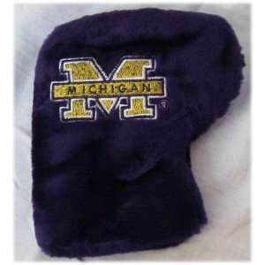 Michigan Wolverines Golf Putter Cover