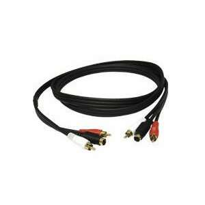 New   12ft S Video + RCA Audio Cable   2310 Electronics