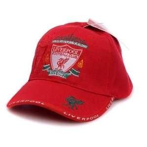 Liverpool FC   Red Adjustable Cap Hat