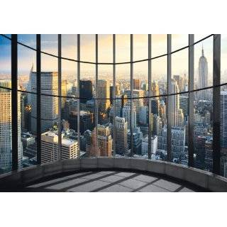 New York City Downtown Street Scene 2 (4 foot wide Removable Graphic