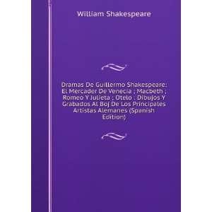 El Mercader De Venecia ; Macbeth ; Romeo Y Julieta ; Otelo  Dibujos Y