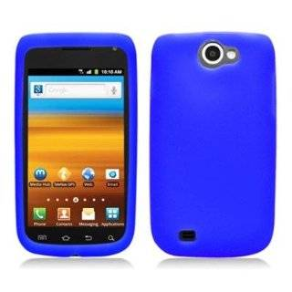 T Mobile Samsung Exhibit II 4G Rubber Feel Hard Case Cover
