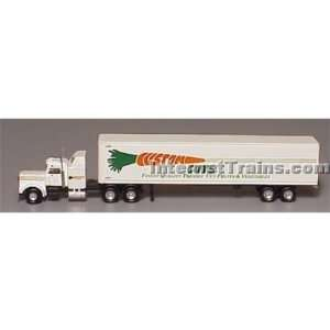 Con Cor N Scale Semi Truck w/48 Trailer   Custom Cuts: Toys & Games