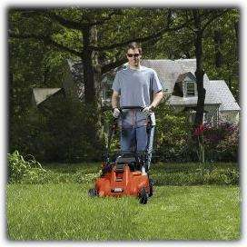 Self Propelled Lawn Mower With Removable Battery Patio, Lawn & Garden