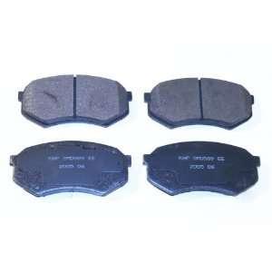 Prime Choice Auto Parts SMK589 Premium New Semi Metallic Front Brake