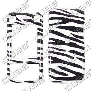 Sony Ericsson W760   Zebra Skin   Hard Protector Case/Cover/Faceplate