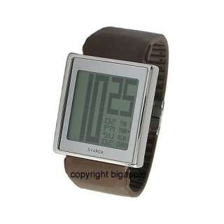 Watch PH1082 Sand; Stainless Steel Case, Brown Rubber Strap with
