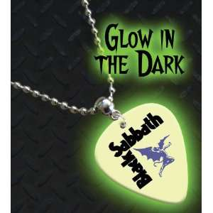 In The Dark Premium Guitar Pick Necklace / Chain: Musical Instruments