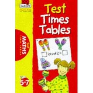 Test Times Tables (Ladybird National Curriculum