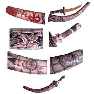 Chinese Hand Carved Sword
