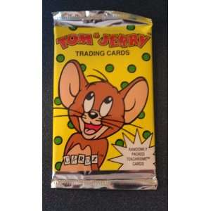 Tom & Jerry Trading Card Pack  8 Cards Per Pack Toys & Games