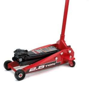 Powerbuilt 640398 Heavy Duty 2 1/2 Ton Floor Jack Automotive