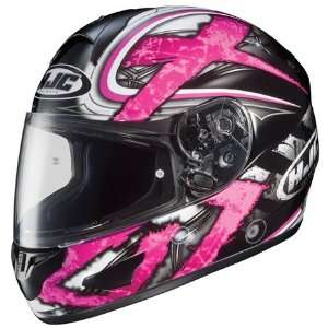 HJC CL 15 Shock Full Face Motorcycle Helmet MC 8 Pink Small S 914 982