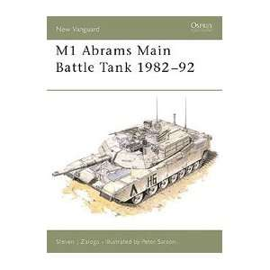 Vanguard: M1 Abrams Main Battle Tank 1982 1992: Toys & Games