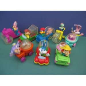 MCDONALD HAPPY MEAL TOY 1992 WACKY ROLLERS SET Everything