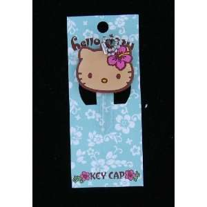 Japanese Sanrio Cute Hello Kitty Key Cap (With Pink Hawaii
